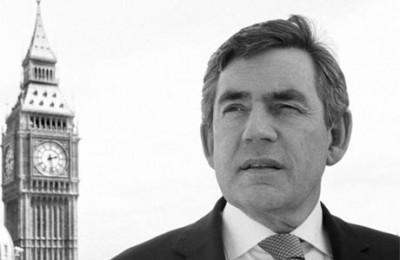 Gordon Brown takes over