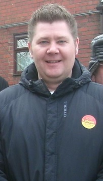 Jonathan Rich newly elected Labour councillor for Peasedown St John