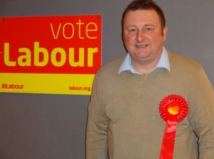 Chris Inchley Labour candidate for Wells.