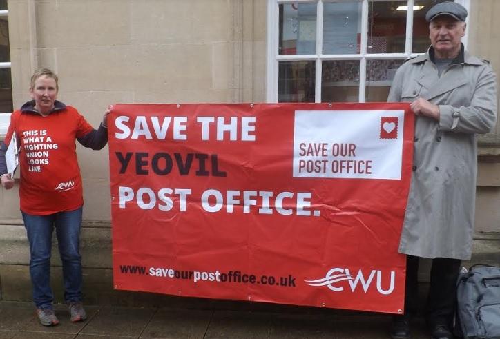 labour campaign against privatisation of yeovil crown post. Black Bedroom Furniture Sets. Home Design Ideas